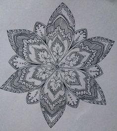 Olivia-Fayne Tattoo Design - GALLERY Tattoo L, Taboo Tattoo, Realism Tattoo, Piercing Tattoo, Leg Tattoos, Mandala Drawing, Mandala Art, Zentangle Patterns, Zentangles