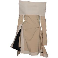 Dior-FW-2016 2-by-sella / VFL.Ru это, фотохостинг без регистрации, и... ❤ liked on Polyvore featuring dresses and brown dresses