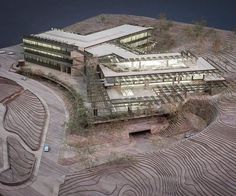 Model by: Millennium Models Emek Medical Centre, by Ron Arad Architects snapchat #nextarch #next_top_architects