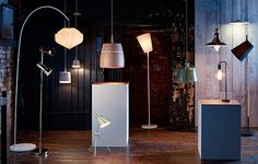 Come and see the extensive lighting range at Heals REDBRICK  http://www.redbrickmill.co.uk/store-list/heals/