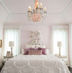 Here's how to decorate a girly princess bedroom!