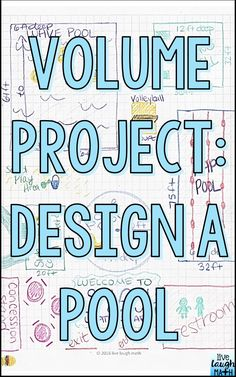 Volume Project- Fun end of year math project or anytime of the year math enrichment for volume! Aligned to common core volume standards. Math Teacher, Math Classroom, Teaching Math, Future Classroom, Classroom Ideas, Classroom Projects, Flipped Classroom, Google Classroom, Teaching Tools