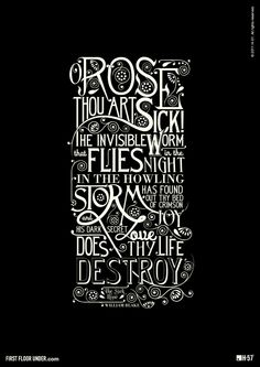 typodesign poetry william blake My Mum would love to see this. Shame she is a dedicated Luddite!