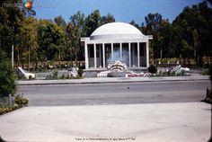 Fotos de Ciudad de México, Distrito Federal, México: Fuente en la Planta potabilizadora de agua Mexico D F 1957
