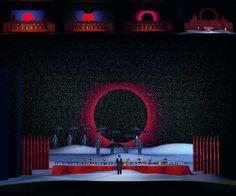 Prince Igor. Essen Opera Theatre. Scenic design by Alexander Orlov. 2009.