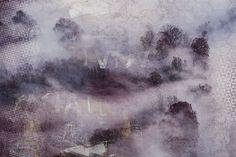 Фотообои Туманная панорама 18554 Abstract, Wallpaper, Artwork, Painting, Summary, Work Of Art, Painting Art, Wallpapers, Paintings