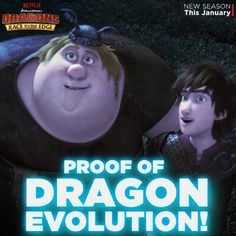 """Hiccup and Fishlegs are uncovering new dragon secrets in """"The Next Big Sting"""" episode, available on Netflix."""