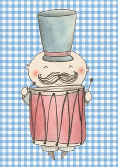 drum illustration by bodesigns