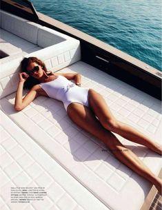 ...fashion swimwear photography on a yacht
