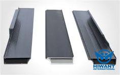 Black color powder coating aluminium profile for kitchen sliding door.
