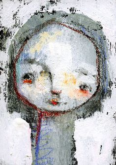Mavis  original ATC ACEO by Mindy Lacefield by timssally on Etsy, $18.00