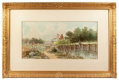 Image result for watercolor art framed with a black mat