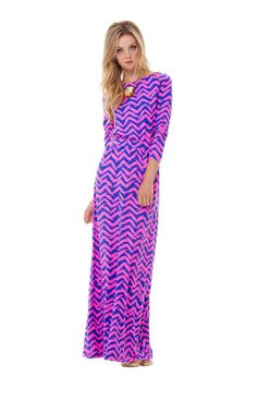 8132a627d1ebf Nigella Boatneck Maxi Dress from Lilly. Woman wearing dress   ridiculous.  Dress is so
