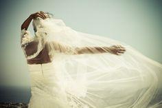 Aspasia Rammos . santorini bride