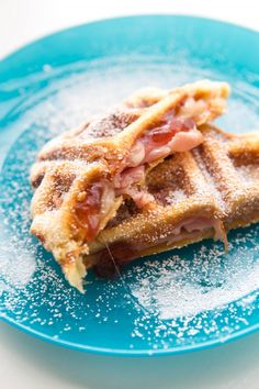 Waffle Iron Recipes for Kids: Monte Cristo Sandwich