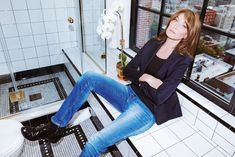 Model, actor, and musician Carla Bruni on bathing with santal oil, calming her nerves and her favorite matte lip stain.