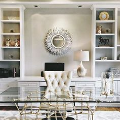 Crazy home office trends for you!    Get relaxed in among the finest pieces at home and follow more ideas of stylish home accessories    #interiordesign #luxuryfurniture #luxuryroom    Check it out: http://homeinspirationideas.net/category/room-inspiration-ideas/home-office