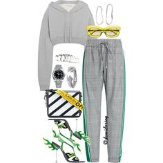 Untitled #228 by thedemidorsey on Polyvore featuring polyvore, fashion, style, Off-White, Monse, H&M, Rolex, David Yurman, Sophie Buhai and Prada