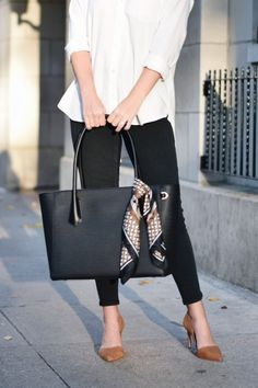 Work Purse, Work Handbag, Work Tote, Work Bags, Casual Bags, Work Casual, Casual Outfits, Bag Women, Women Work Bag