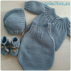 Diy Crafts Knitting, Diy Crafts Crochet, Knitting For Kids, Diy Romper, Tricot Baby, Baby Romper Pattern, Newborn Crochet Patterns, Baby Overalls, Knitted Baby Clothes