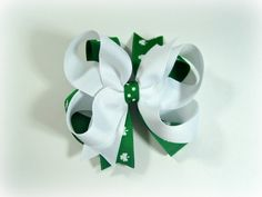 Twisted St. Patty's Day Bow