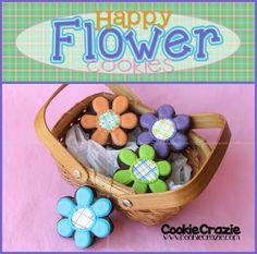 CookieCrazie: Happy Flower Cookies