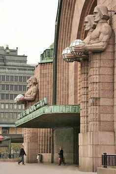 Helsinki, Finland, railway station