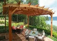 diy patio roof ideas - Google Search