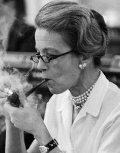 """Scudding Under Bare Poles: Following """"Famous Pipe Smokers"""" Millicent Fenwick (R-NJ)"""
