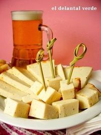 "{Yummy} #Vegan Cheese with Paprika // Queso Vegano ""Curado"" Al Pimentón Dulce (recipe in spanish)"