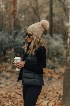 Cold Weather Essentials // fall layers // pom beanie
