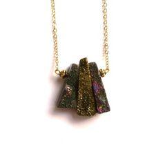 Gold Chimes Pendant