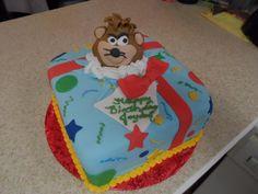 Taz birthday cake