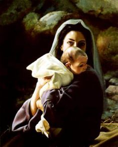 ~ Mary and Baby Jesus.~