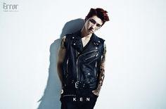 """Ken: VIXX reveals jacket image + concept photos for 2nd mini-album, """"Error"""""""