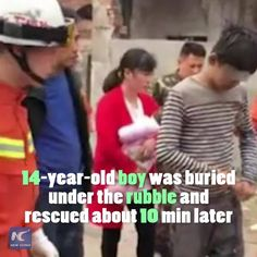 Worst luck ever! 14-year-old boy trapped after public restroom collapses in C China.