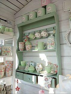 Kitchens   My Shabby Chic Decor #shabbychicdecorvintage #kitchenshelving #DIYHomeDecorShabbyChic