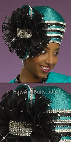 DonnaVinci Couture HATS H2137 Church Hat Fall 2013 Church Suits And Hats, Church Attire, Church Hats, Fancy Hats, Cool Hats, Glamour, Kentucky Derby Outfit, Derby Outfits, Pamela