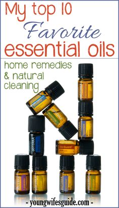 Top 10 Favorite Essential Oils - Young Wife's Guide