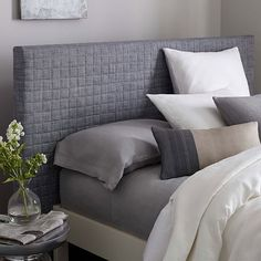 Quilted Headboard | west elm