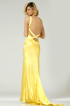 This was my junior year prom dress. Yellow Dress from How to Lose a guy in 10 days