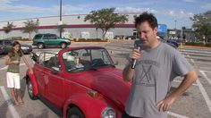 Tom's Bug by VW TV. VWTV talks to Tom, the owner of a convertible beetle.
