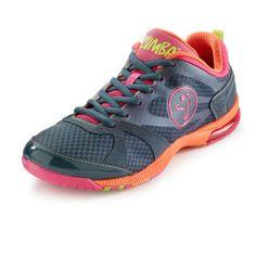 Zumba Fitness Impact Max Shoes - Dark Slate | www.GlobalZFitness.com #zumbaclothes #zumba #zumbashoes #fitness