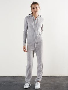 sports shoes 9ee41 90f99 Soft Goat Cashmere Hoodie and Pants in Grey