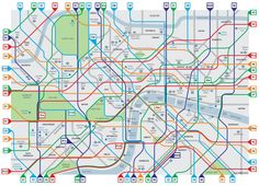 Simon Parker's London Cycle Map | Cycle Lifestyle