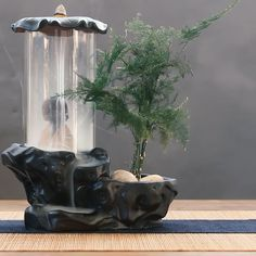 Precious Tips for Outdoor Gardens In general, almost half of the houses in the world… Burning Incense, Incense Burner, Yoga Room Design, Buddha Decor, Indoor Water Fountains, Buddha Zen, Krishna Wallpaper, Incense Cones, Diy Projects For Beginners