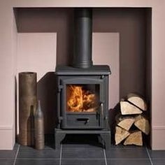Wood Burning Stove No Surround Google Search House