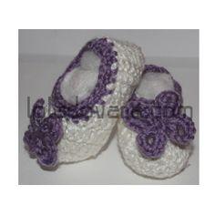 Zapatillas de Bebe Crochet - loladovana.com