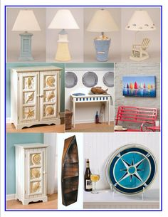 Spring is Almost Here! Why not Freshen Up your Home, Boat or Beach House with a New Piece of Accent Furniture, Artwork or Lighting?
