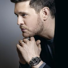 @michaelbuble and the new Rolex Air-King.